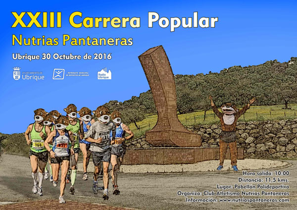 XXIII Carrera Popular Nutrias Pantaneras