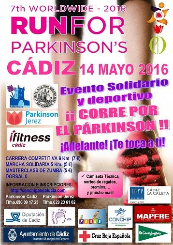 IV Carrera Solidaria Run For Parkinson Cádiz