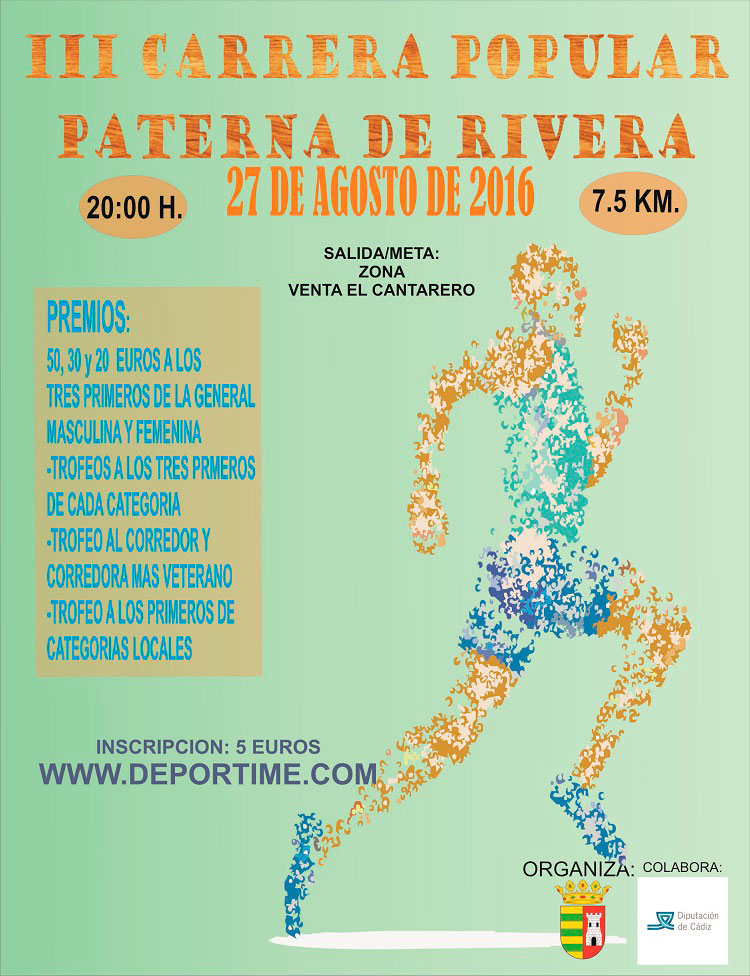 II Carrera Popular Paterna de Rivera