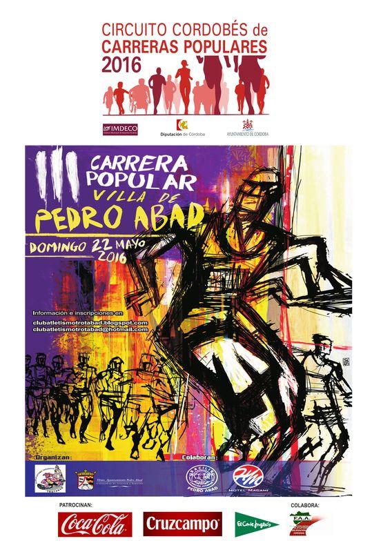 Carrera III Carrera Popular Villa de Pedro Abad