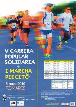 I Carrera Solidaria Piecito