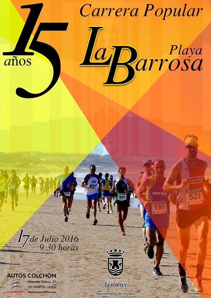 XV Carrera Popular Playa de la Barrosa