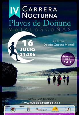 IV Carrera Nocturna Playas de Doñana