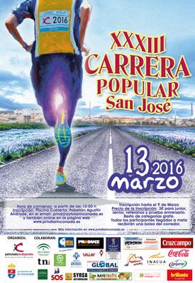 Carrera XXXIII Carrera Popular San José