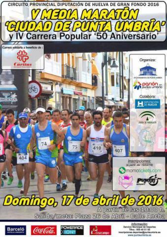 Carrera V Media Maratón Ciudad de Punta Umbría