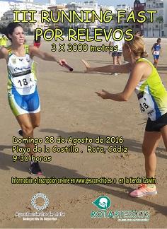 III Runinng Fast por Relevos SUSPENDIDA
