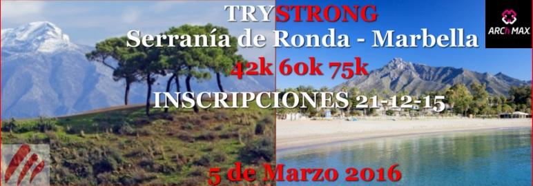 Carrera I Trail Trystrong Serranía de Ronda Marbella