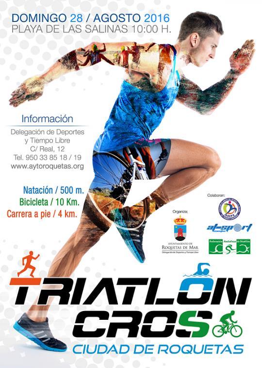 Triatlón Cross Ciudad de Roquetas