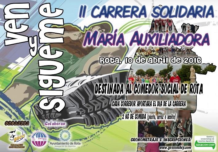 Carrera II Carrera Solidaria Mª Auxiliadora