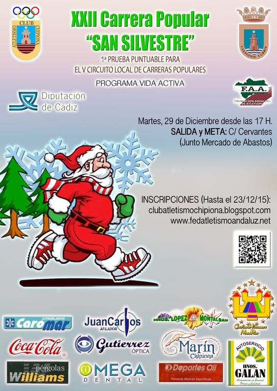 Carrera XXII Carrera Popular San Silvestre de Chipiona