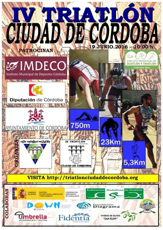 Carrera IV Triatlón Ciudad De Córdoba