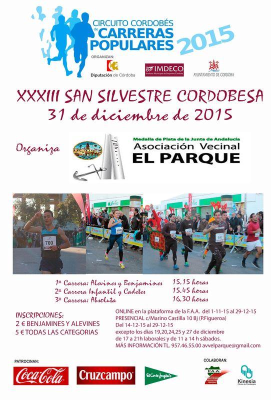 Carrera XXXIII San Silvestre Cordobesa