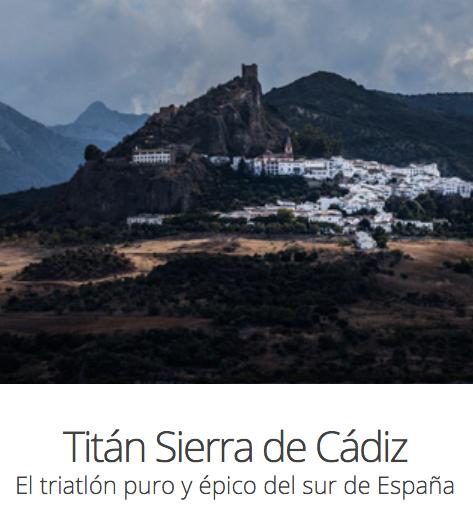 Carrera XII Triatlón Titán Sierra de Cádiz