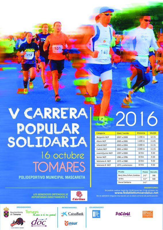 V Carrera Popular Solidaria Ciudad de Tomares