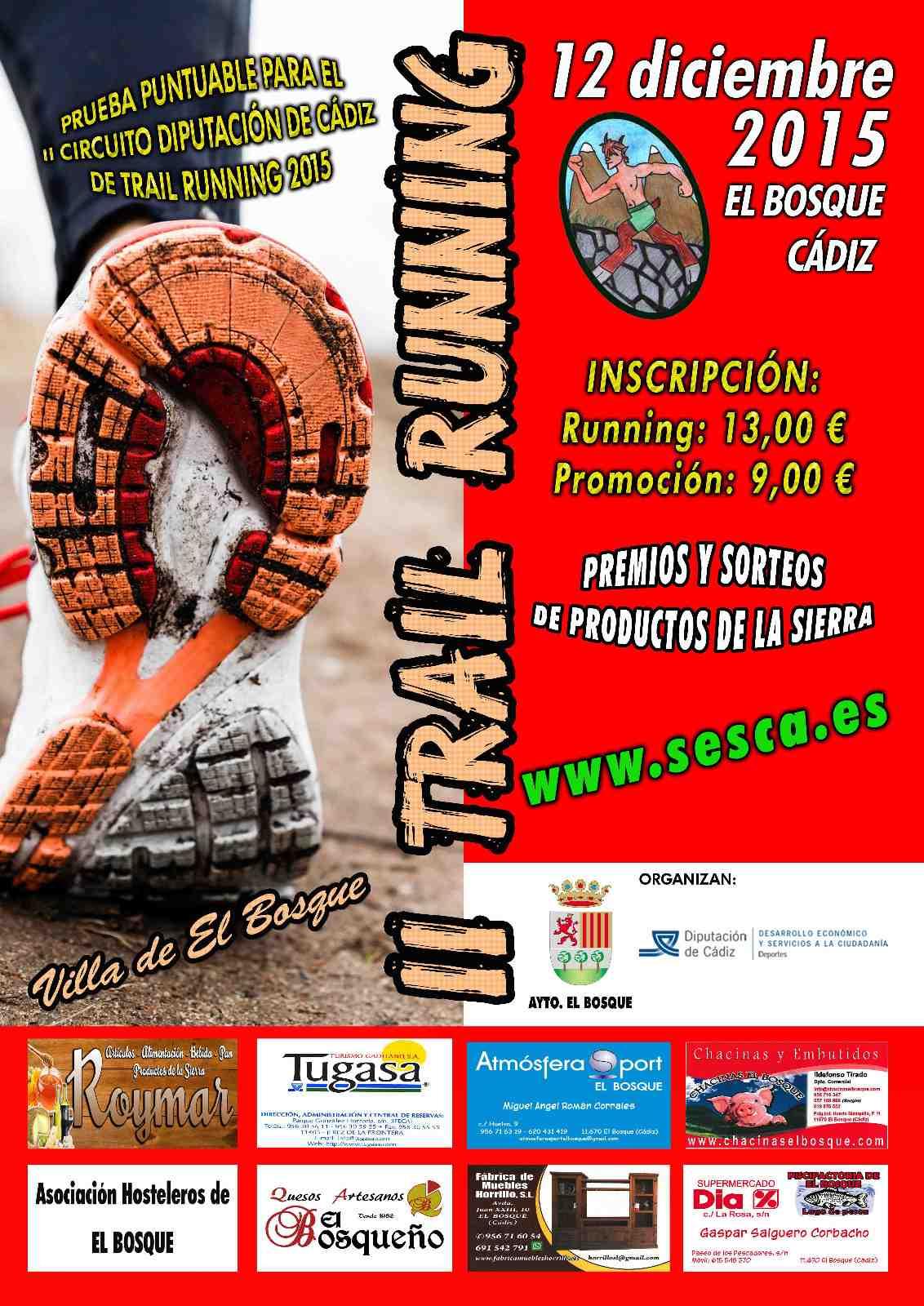 II Trail Running El Bosque