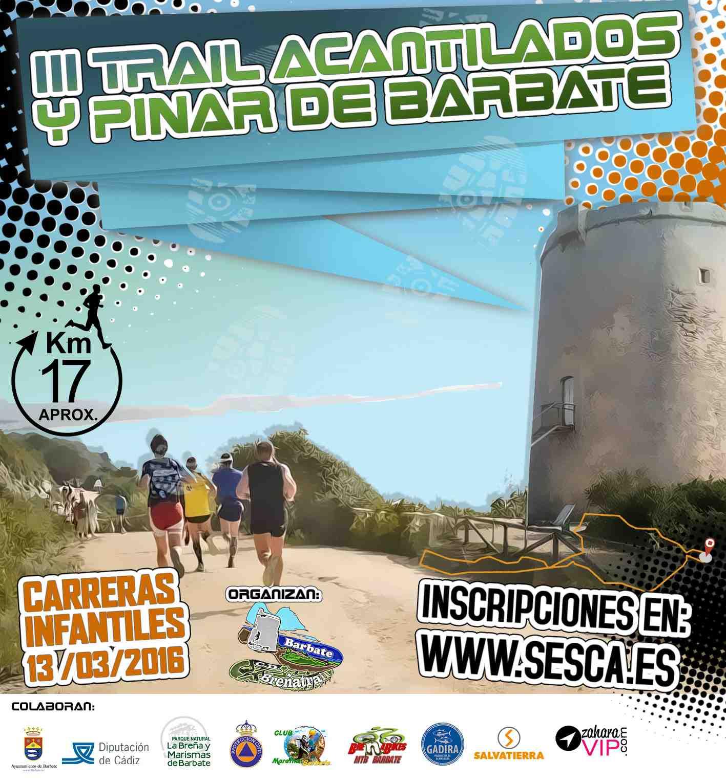 Carrera III Trail Acantilados y Pinar de Barbate