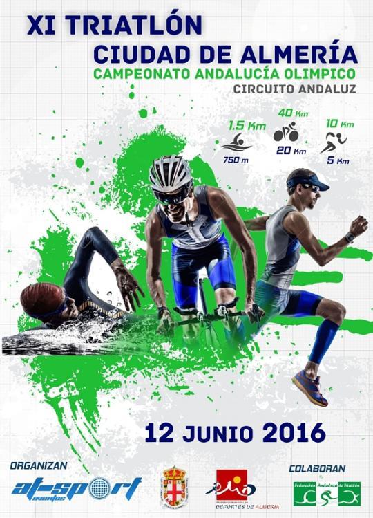 Carrera XI Triatlón Sprint Ciudad De Almeria