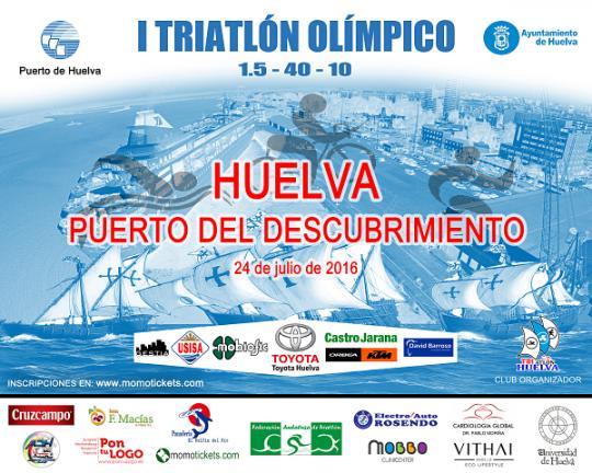 I Triatlón Olímpico Huelva Puerto del Descubrimiento