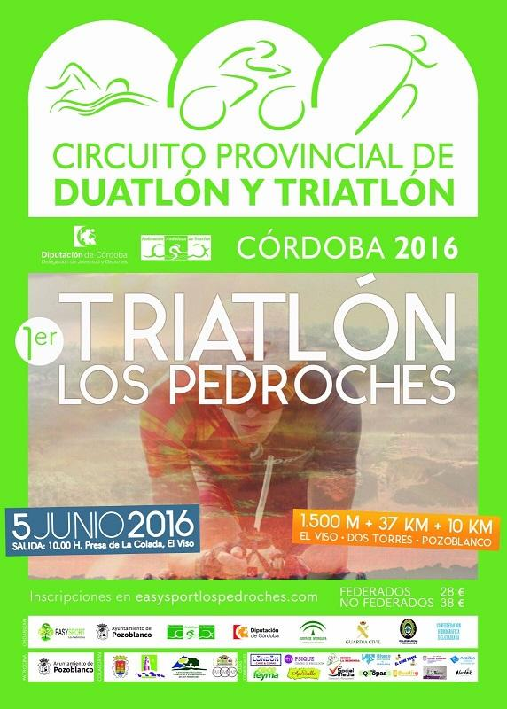 Carrera I Triatlon de los Pedroches
