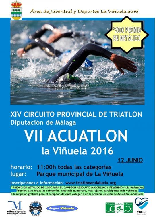 VII Acuatlón De La Viñuela