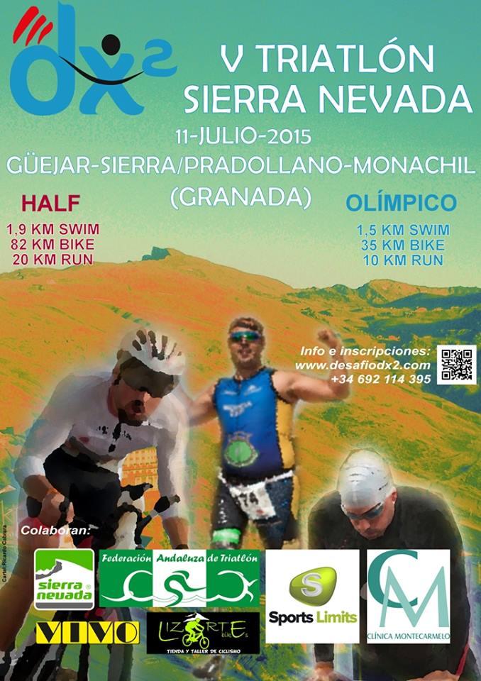 Carrera V DX2 Triatlón Olímpico Sierra Nevada 2015