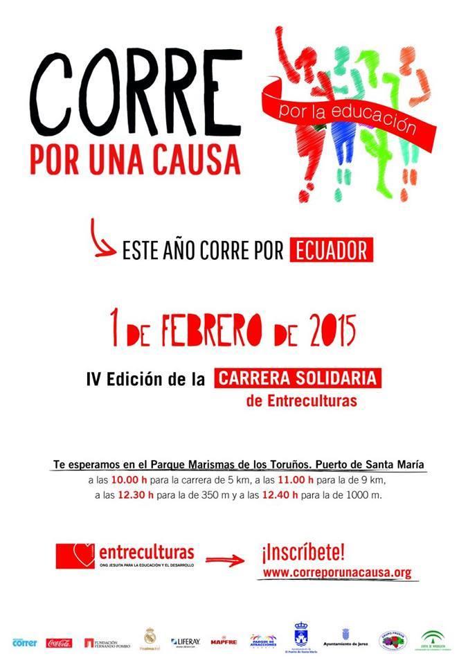 Carrera IV Carrera Corre por una causa en Sevilla