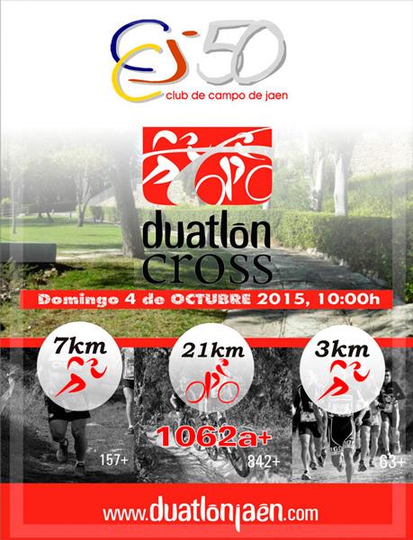Carrera I Duatlon Cros Club de Campo 50 Aniversario Jaen