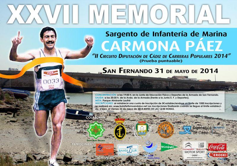 Carrera XXVII Memorial Sargento Carmona Páez