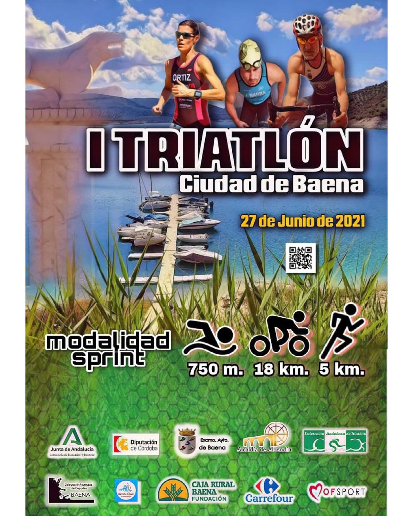 I Triatlón Ciudad De Baena