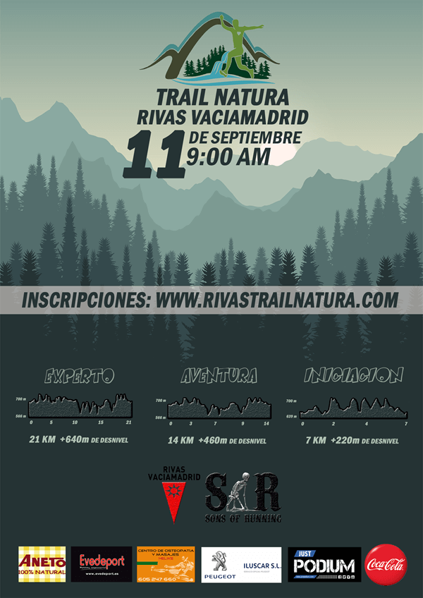 II Trail Natura Rivas Vaciamadrid
