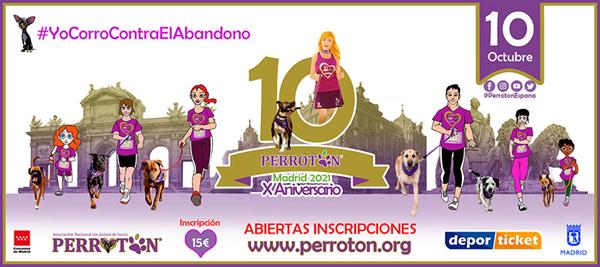 Perrotón Madrid 2021 X Aniversario
