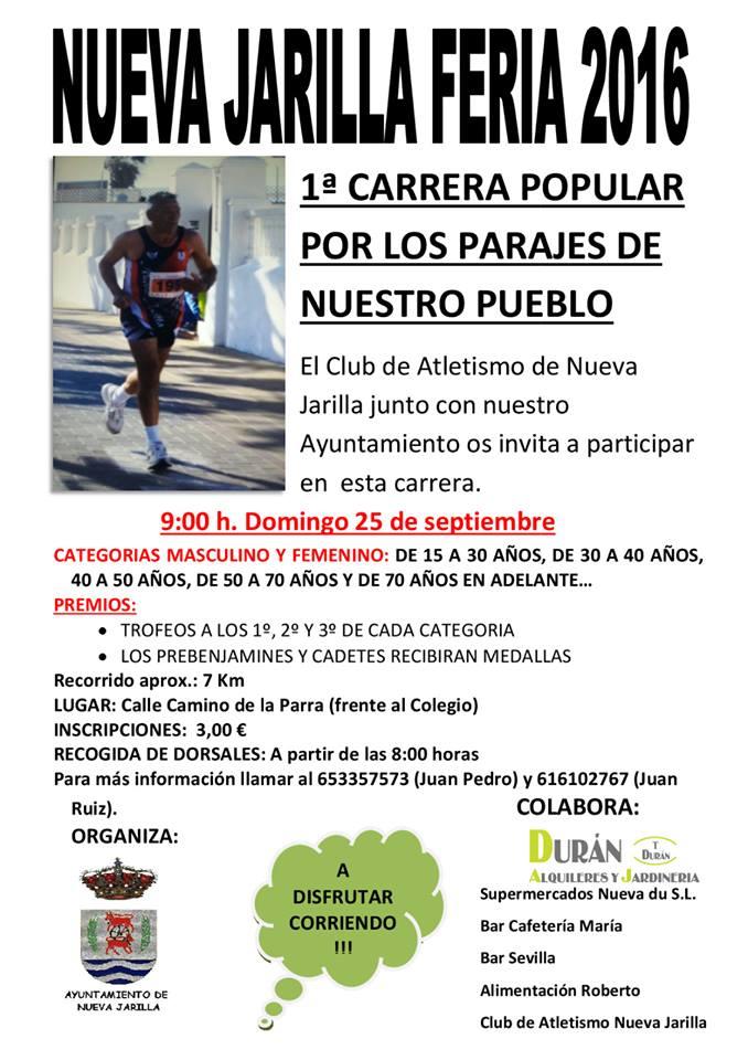 I Carrera Popular Nueva Jarilla