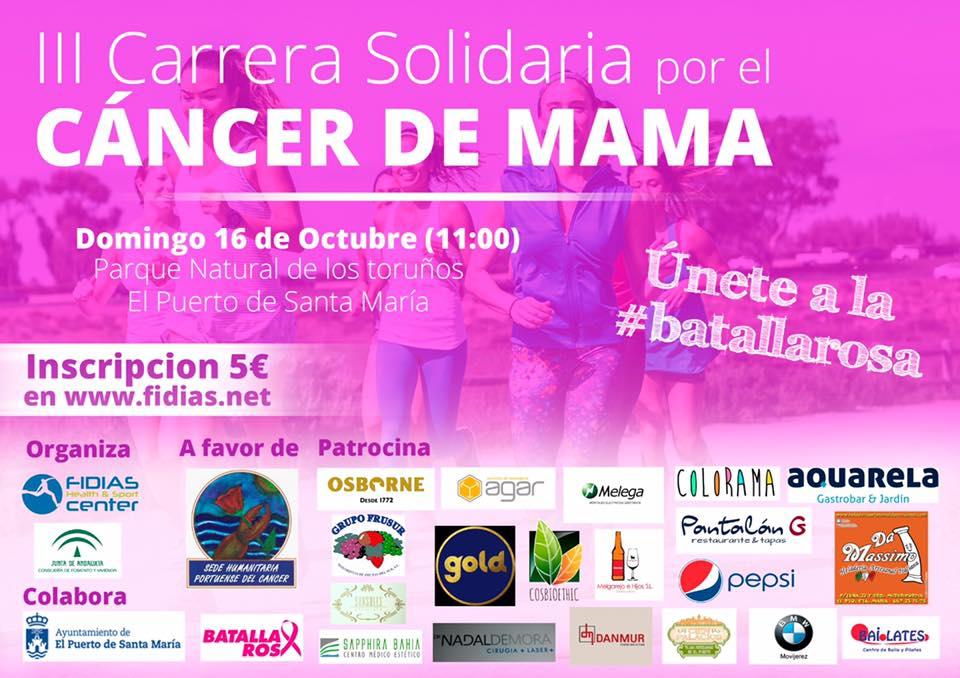 III Carrera Solidaria por el cáncer de mama