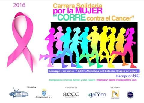 II Carrera Solidaria por la Mujer Corre contra el Cáncer