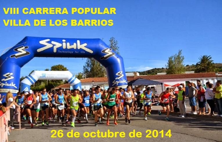 Carrera VIII C.P. Villa de los Barrios