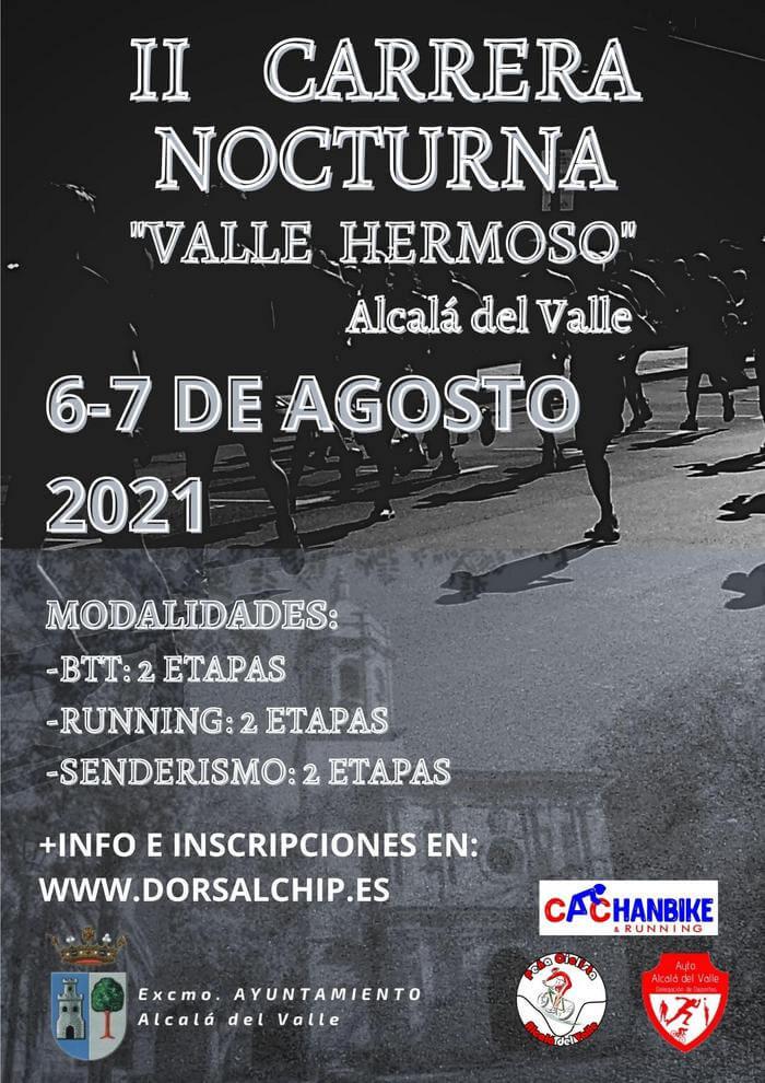 II Carrera Nocturna Valle Hermoso