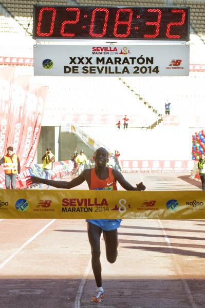 Carrera XXXI Zurich Maratón de Sevilla