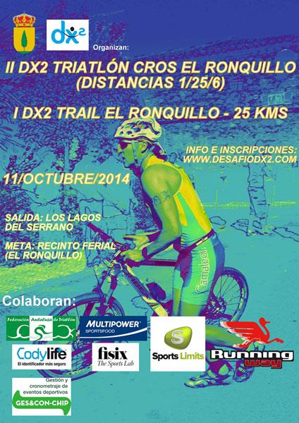 Carrera I Trail DX2 El Ronquillo