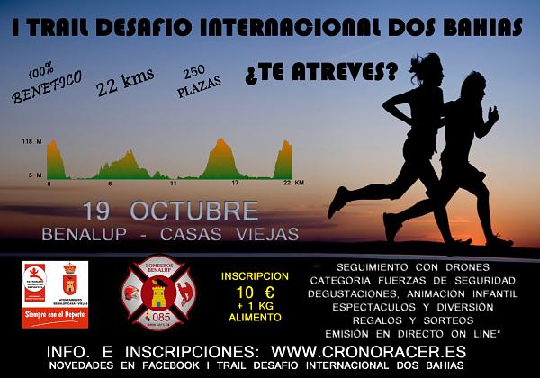 Carrera I Trail Desafío Internacional Dos Bahias