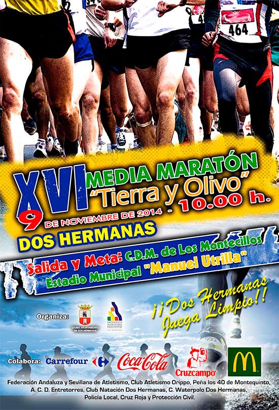 Carrera XVI Media Maratón Tierra y Olivo
