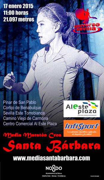 Carrera I Media Maratón Cross Santa Bárbara