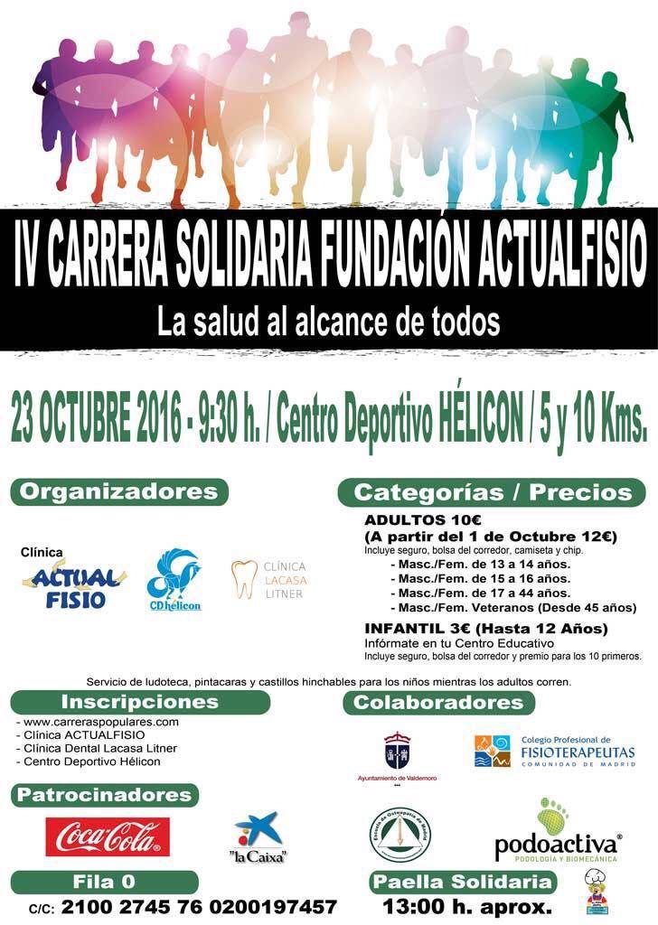 IV Carrera solidaria fundacion Actualfisio