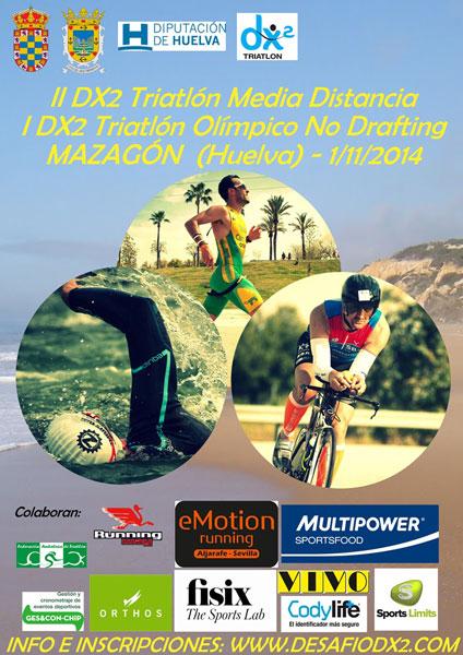Carrera I DX2 Triatlon Olímpico Mazagón-Palos