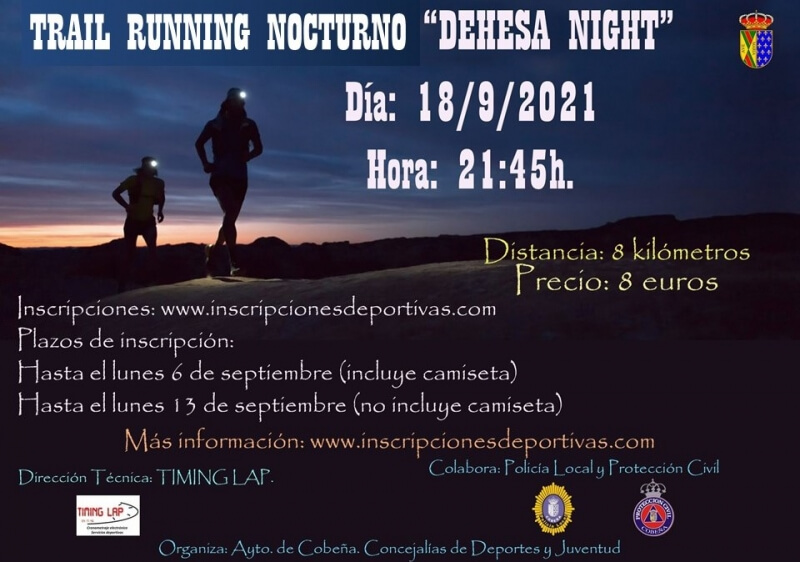 I Carrera Nocturna DEHESA NIGTH