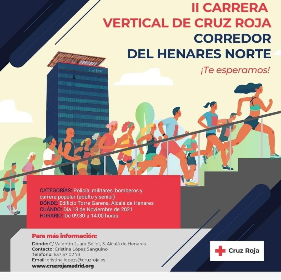 II Carrera Vertical de Cruz Roja
