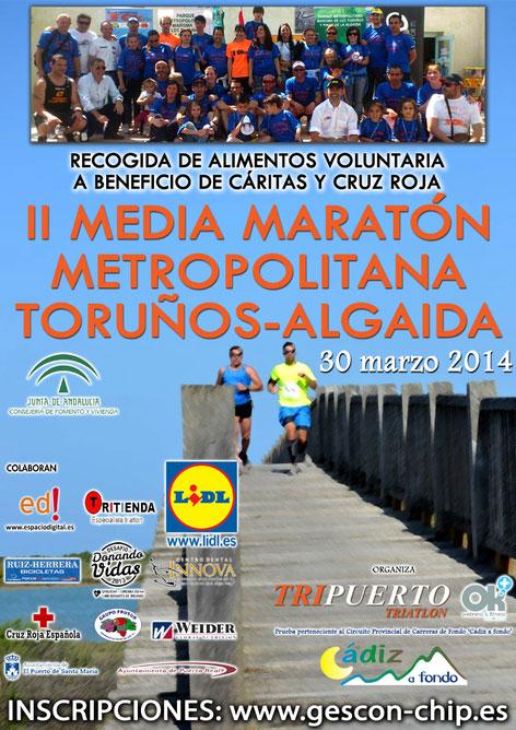 Carrera II Media Maratón Toruños-Algaida