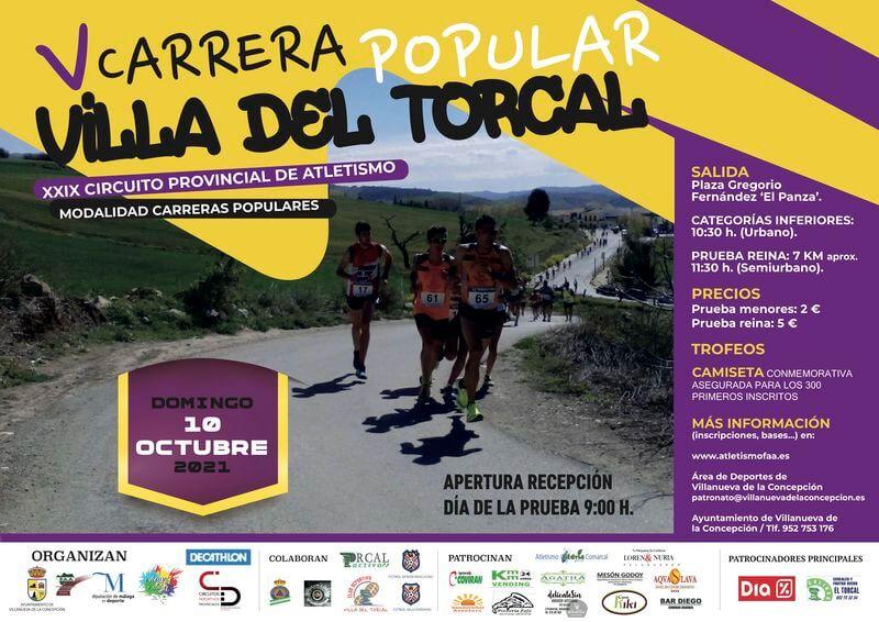 V Carrera Popular Villa del Torcal