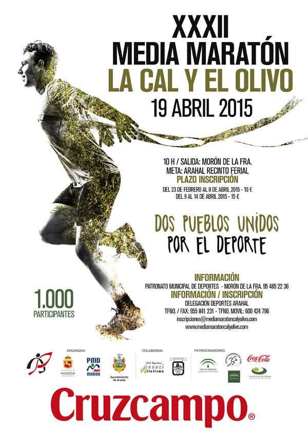 Carrera XXXII Media Maratón La Cal y El Olivo
