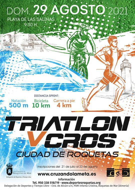 V Triatlón Cros Ciudad De Roquetas