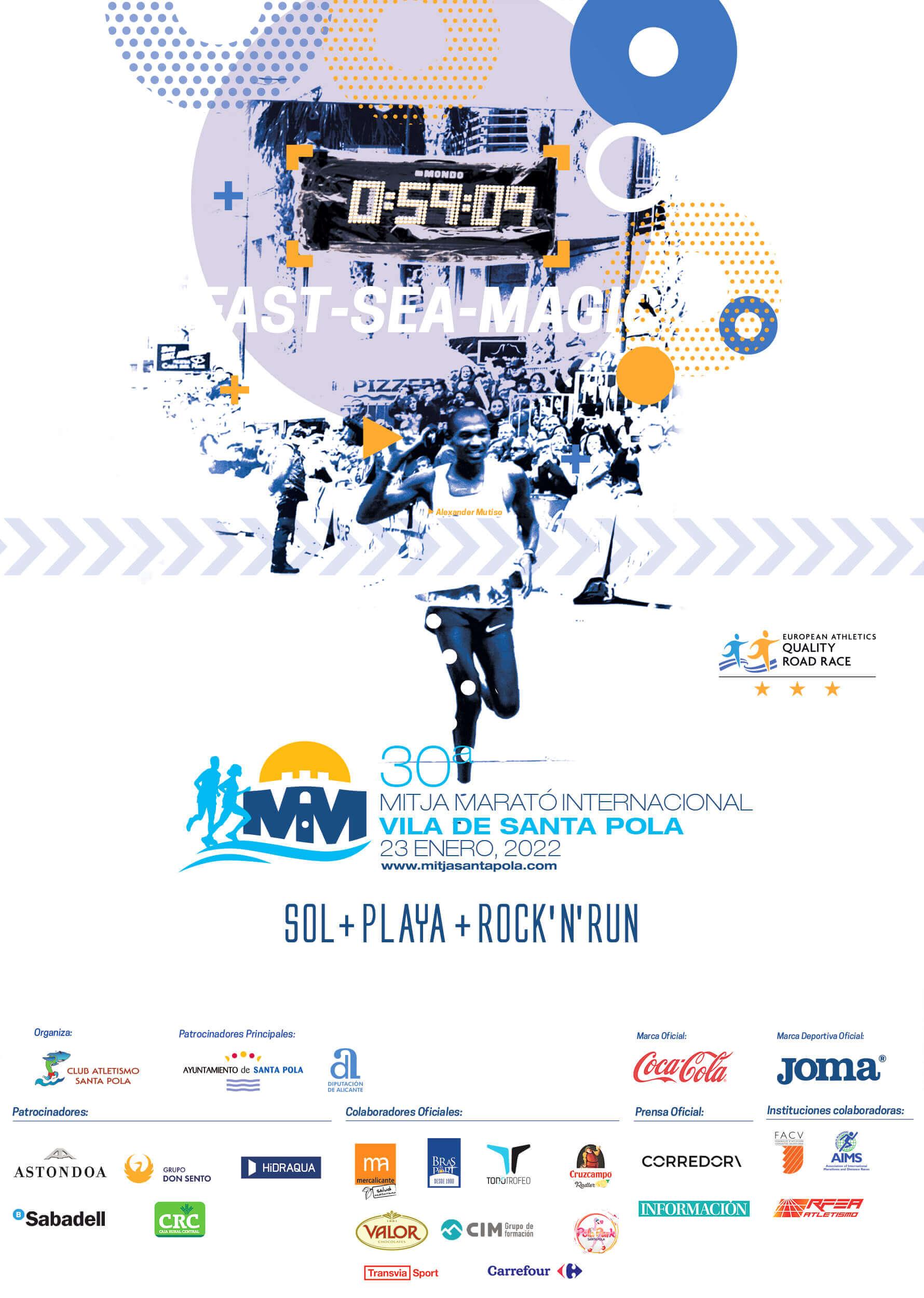 30 Mitja Marató Internacional Vila de Santa Pola